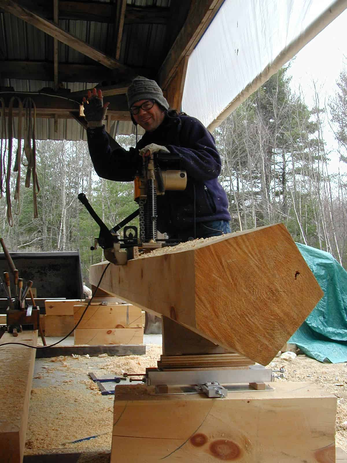 Timber Framing Tools used by Arris Timber Works
